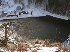 Zima- vodná nádrž Motyčky
